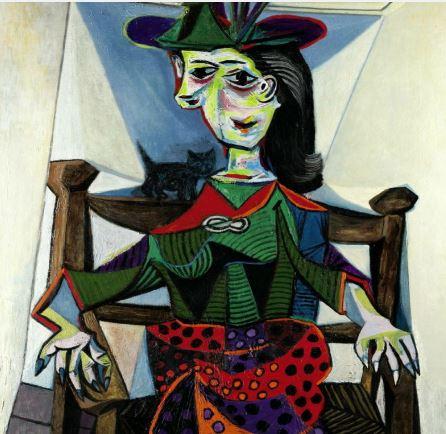 لوحة للفنان بيكاسو